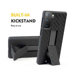 Holster Case with Belt Clip for Samsung Galaxy S21 Plus (S21+)