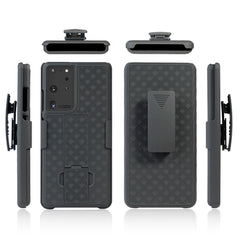 Holster Case with Belt Clip for Samsung Galaxy S21 Ultra