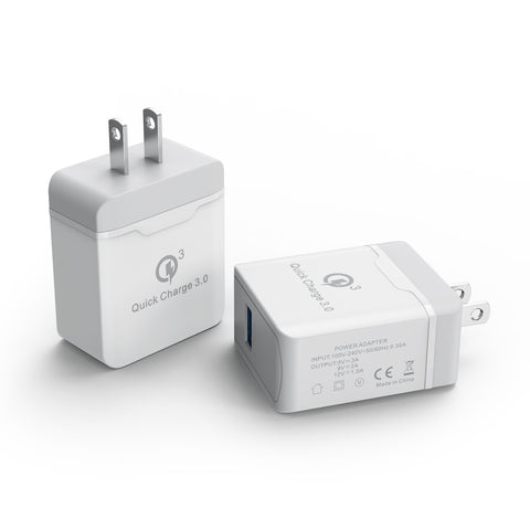 18W Fast Charging Wall Charger for Cell Phones & Tablets