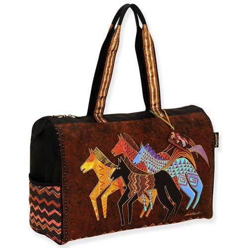 Native Horses Travel Bag