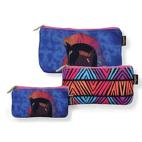 3 Bag Set Cosmetic Bags