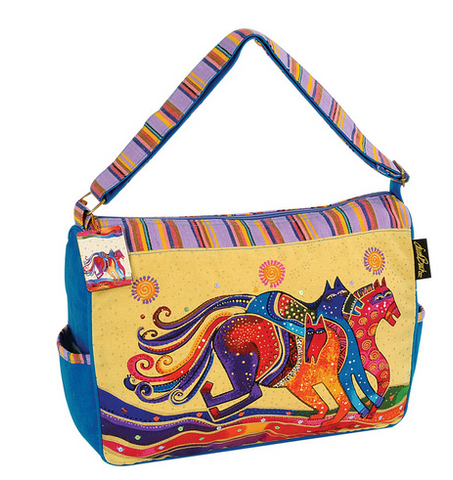 Dancing Horses Medium Tote