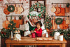 Vintage Holiday Kitchen