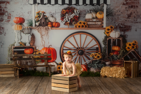 Pumpkin Cart