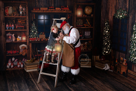 Santa's Magical Workshop Room