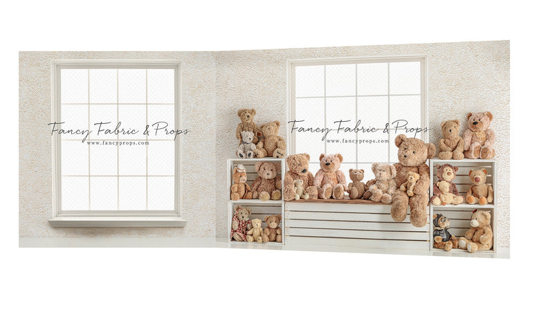 Beary Cuddly Corner 2 piece Mini Room