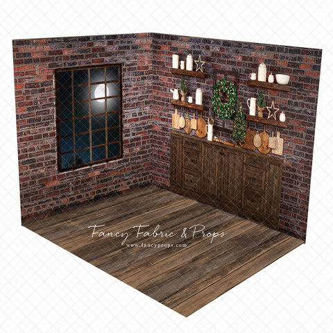 Rustic Merry Kitchen Room