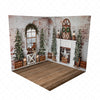 Vintage Rustic Holiday Room