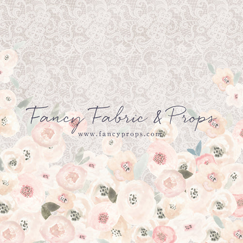 Shabby Lace Floral