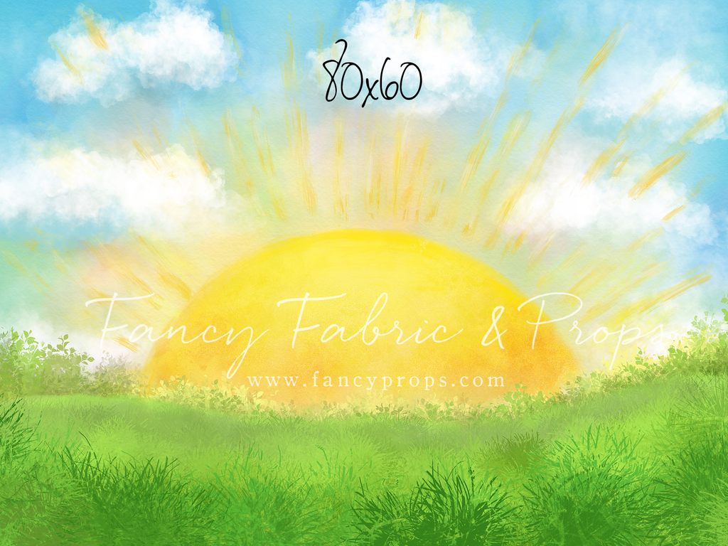 You Are My Sunshine Fancy Fabric Props