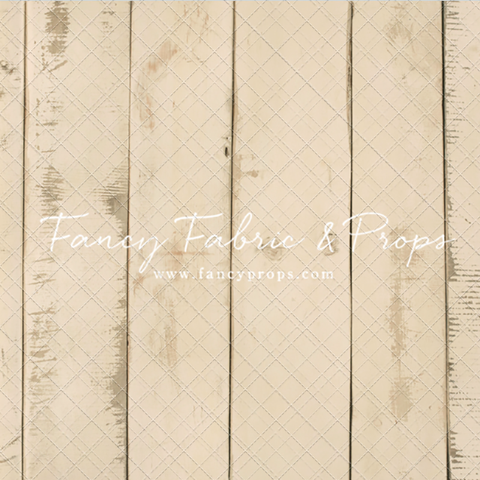 Amanda Cream Barn Wood Planks - Petite