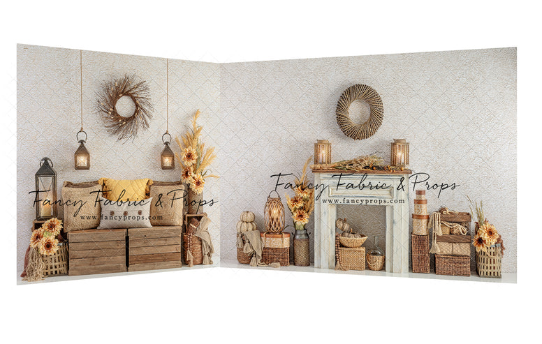 Autumns Fireplace 2pc Room