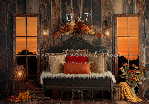 Cozy Fall Retreat Room