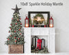 Sparkle Holiday Mantle Room