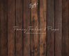 Jamison Wood Planks Mat Floor