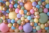 Pastel Palette Balloon Wall