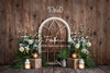 Rustic Floral Archway