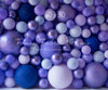 Shades of Lavender Balloon Wall