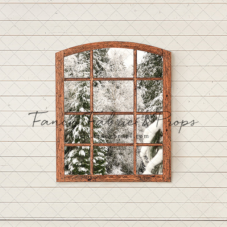 Shiplap Rustic Window