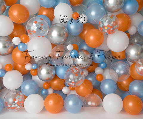 Sweet Clementine Balloon Wall