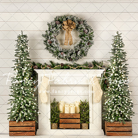 Blissful Shiplap Mantle