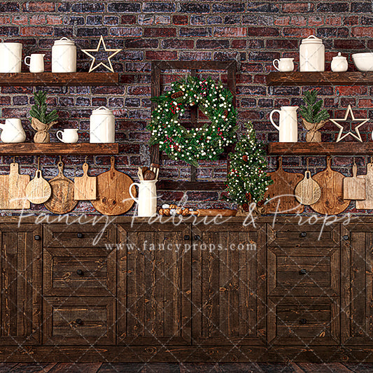 Rustic Merry Kitchen