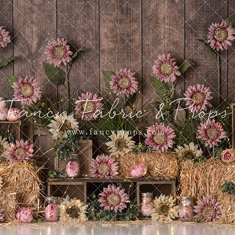 Sunflower Rustic Glam