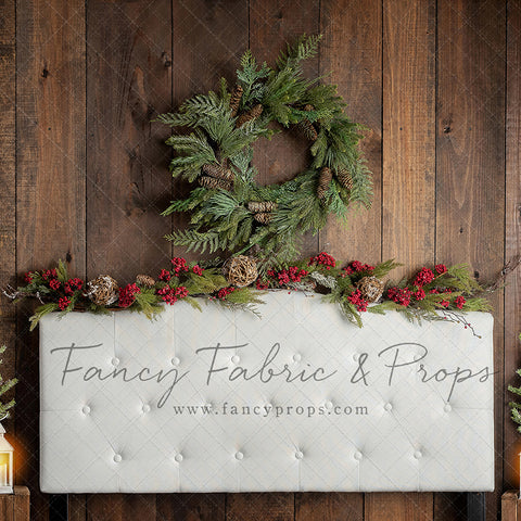 Twinkle Velvet Holiday Headboard