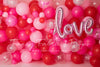 Valentine Party Balloon Wall