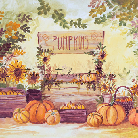 Fall Into The Pumpkin Patch
