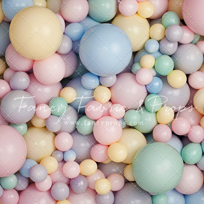 Prism of Pastel Balloon Wall