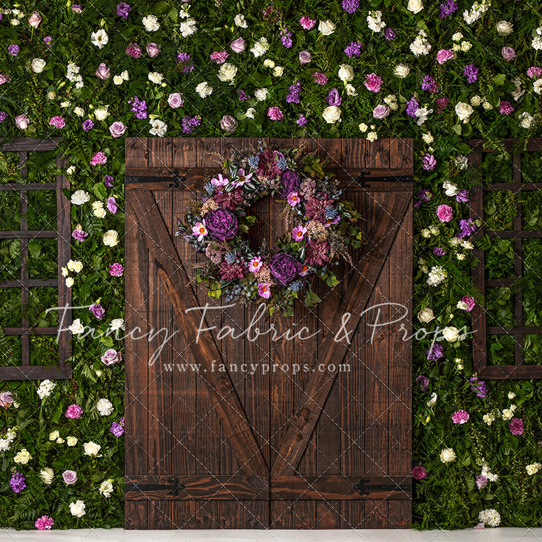 Rustic Rose Entry