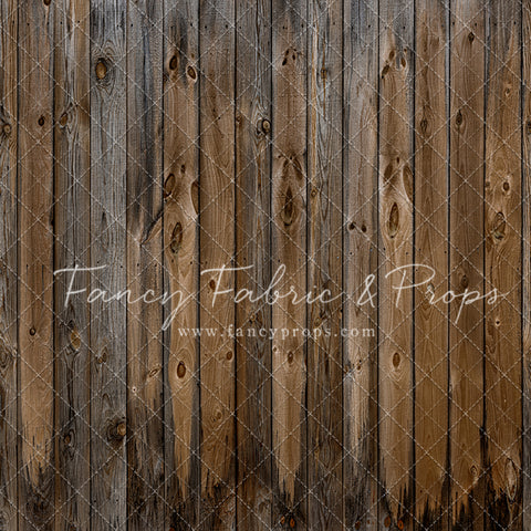 Montana Wood Planks Mat Floor