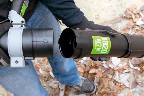 LB6000E Powerful Backpack leaf blower