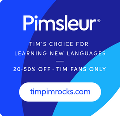 Pimsleur Language Learning Ad