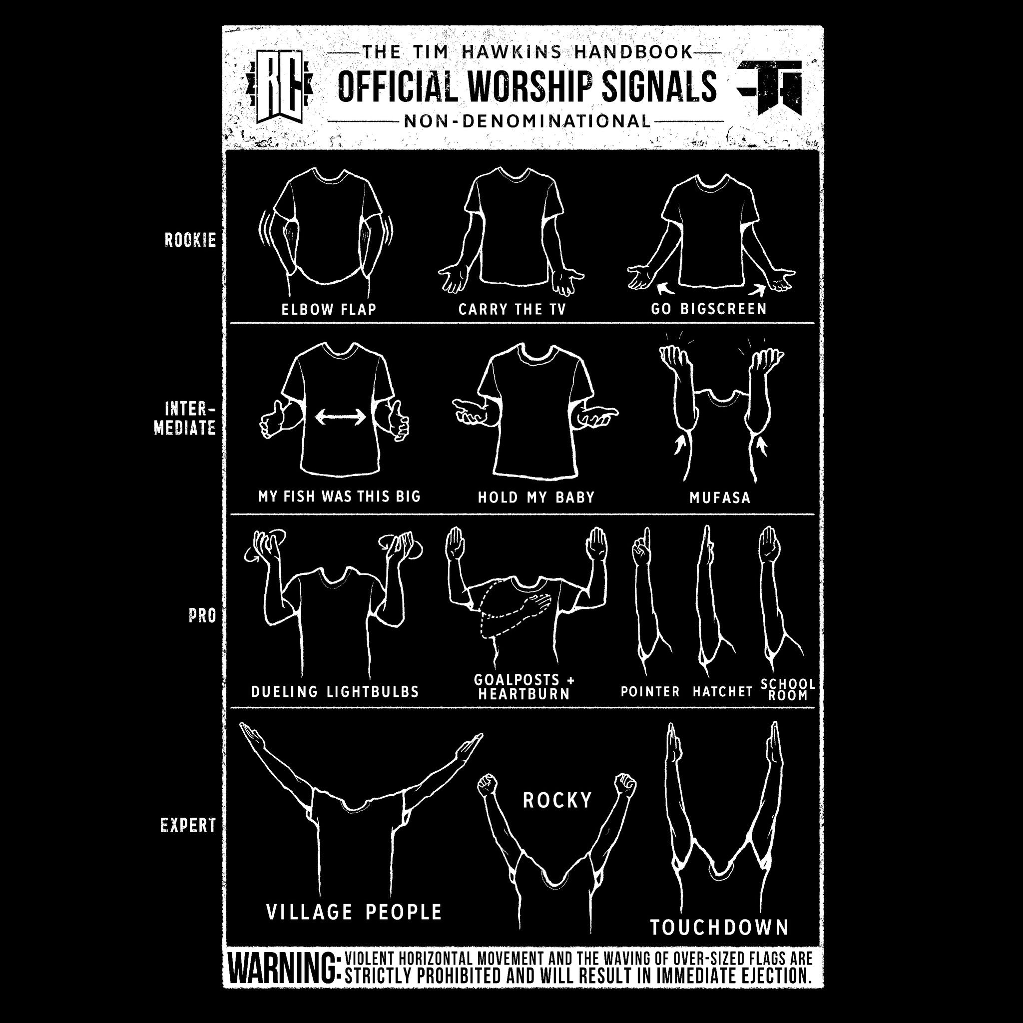 Worship Hands T-Shirt