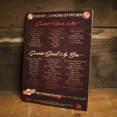 Greatest Hits & Bits 2 DVD Set