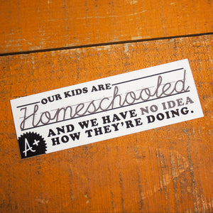 Homeschool Honor Student Sticker