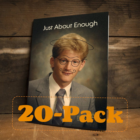Just About Enough DVD (20-Pack)