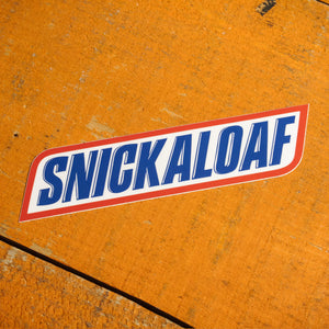 Snickaloaf Sticker