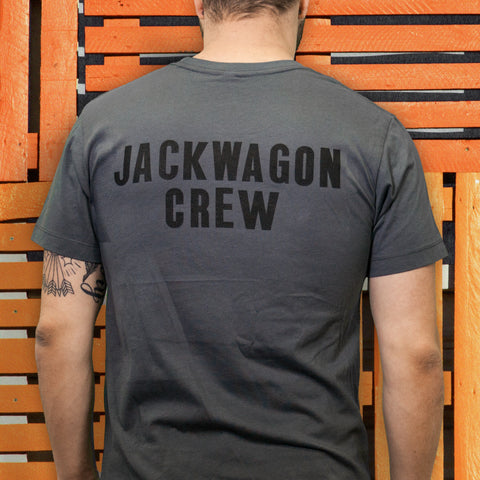 Jackwagon Crew T-Shirt (Grey)