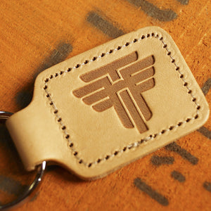 TH Leather Keychain