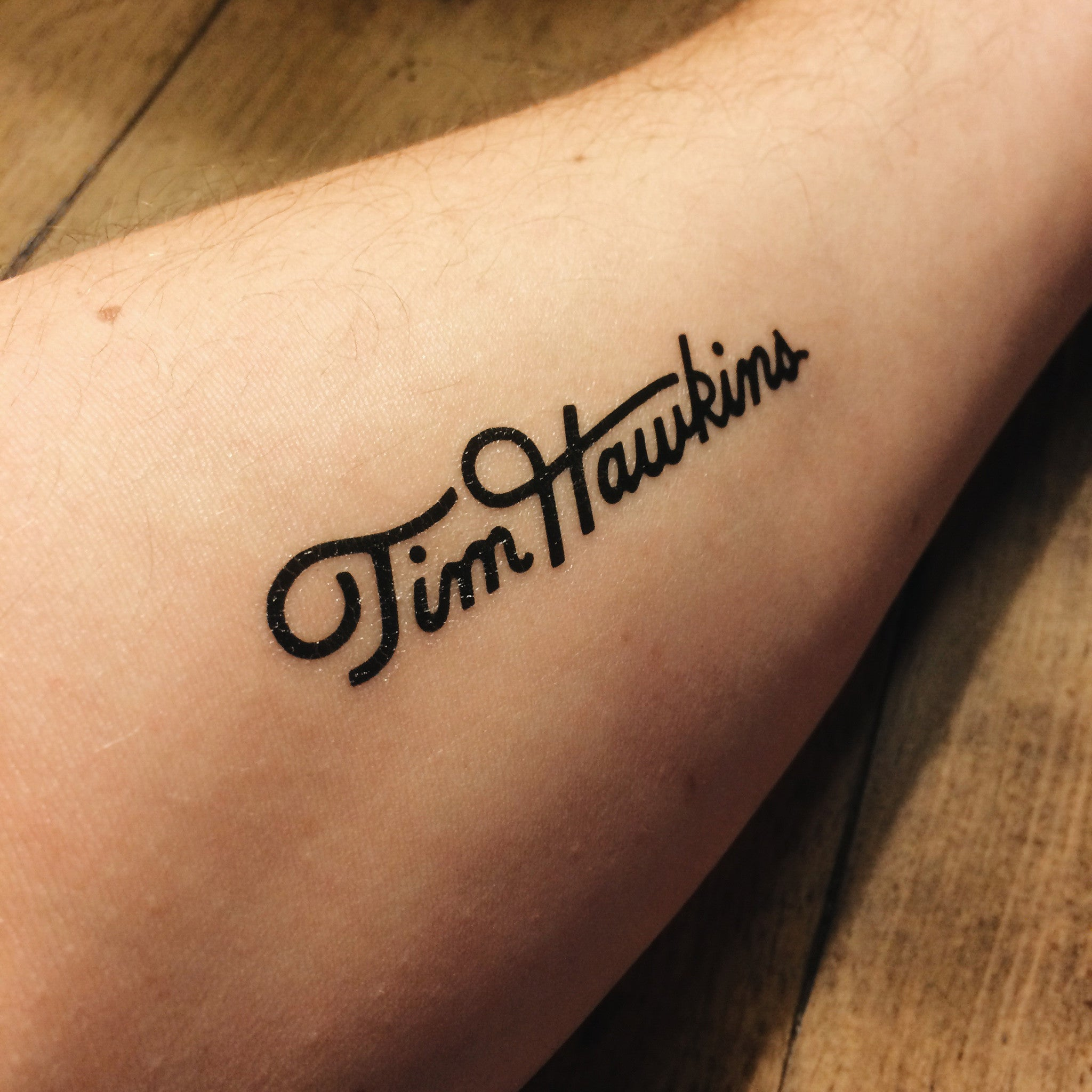 Tim's Temporary Tats (6-Pack)