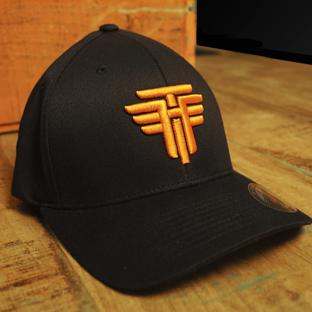 TH Classic Flexfit Hat - Black