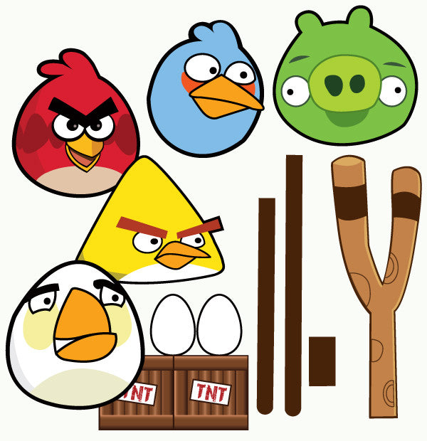 photograph relating to Angry Birds Printable named Indignant Birds printable Choice