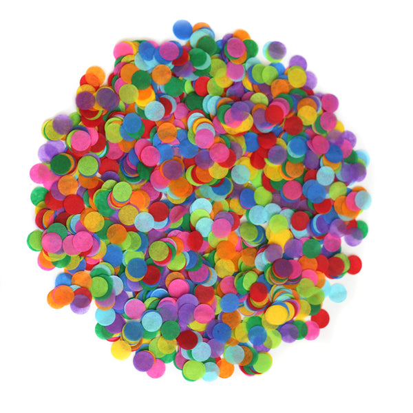 Bright Rainbow Confetti