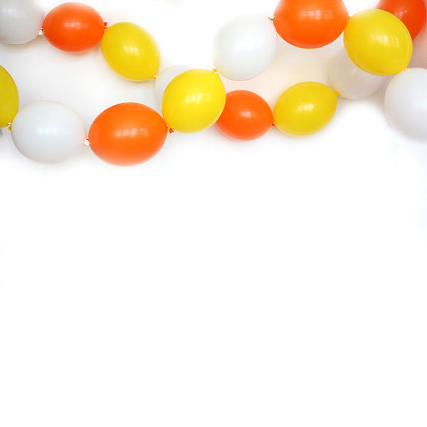 Candy Corn Link Balloon Garland