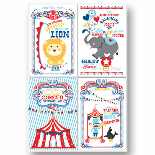 Coordinating printable Circus/ Carnival poster- Enter the Magical World of the Circus Collection