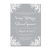 Delicate Lace Wedding Invitations