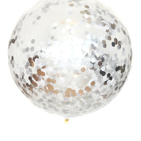 Disco Ball Confetti Balloon
